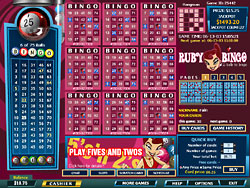 Ruby Bingo Screenshot